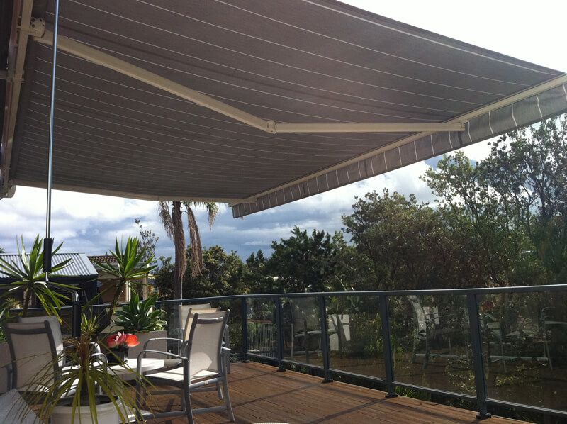 Retractable Amp Folding Arm Awnings In Central Coast Amp Sydney