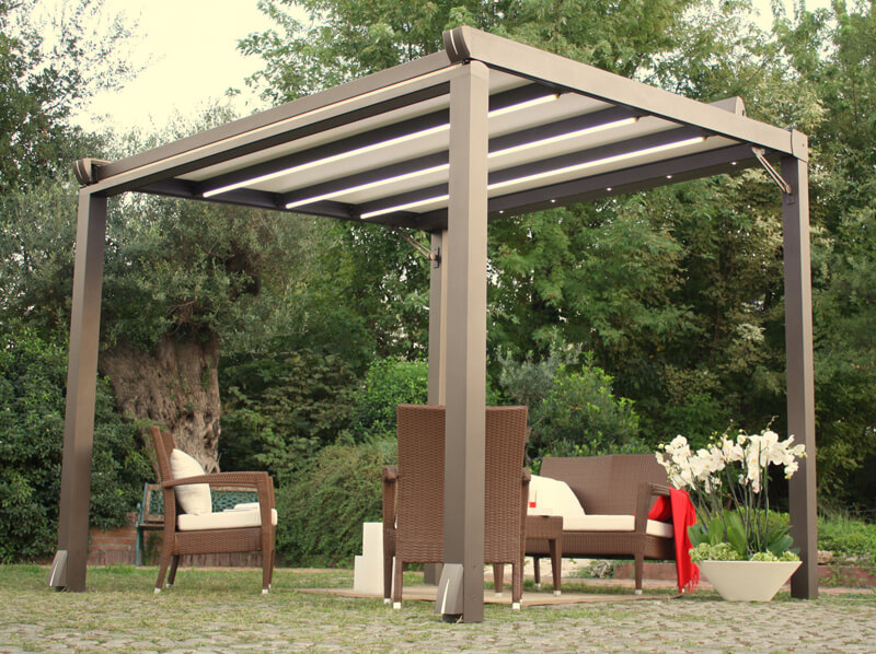 ... Retractable Fabric Patio Covers