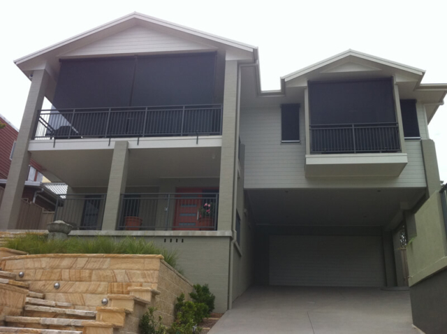 The Straight Drop Awning Central Coast And Sydney Areas