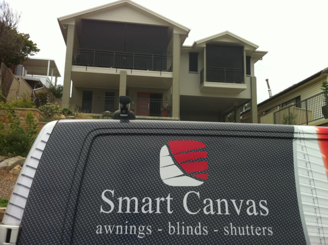 folding arm retractable awnings central coast sydney